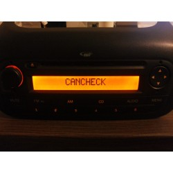 Anulare comunicare CAN cd player Citroen Nemo