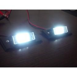 Modificare lampi numar cu leduri