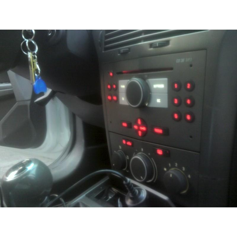 led tuning full interior opel astra