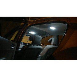 Led tuning full interior Renault Megane
