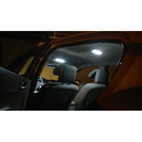 Led tuning full interior Renault Megane