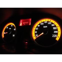 Ceasuri de bord cu LED-uri modificate
