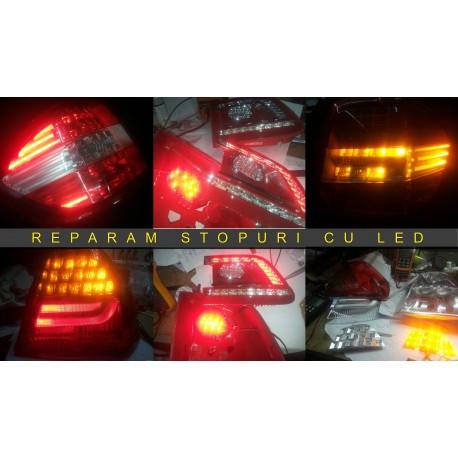 Reparatii stopuri LED