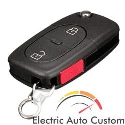 Carcasa cheie Audi briceag cu 2 butoane