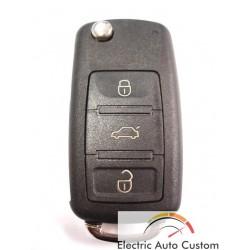 Carcasa cheie Audi briceag cu 3 butoane