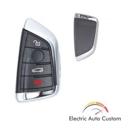 Carcasa SMART KEY BMW X5 cu 4 butoane si cheie de urgenta