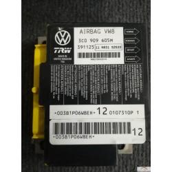 Crash data VW TRW 3C0909605M