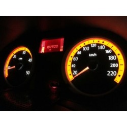 Led tuning full interior Renault Clio II