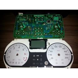 Modificare leduri ceasuri bord Dacia Logan v1