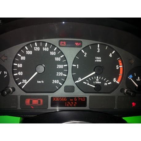 Reparatie ceasuri de bord BMW E46