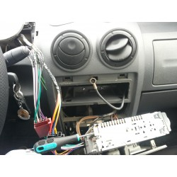 Recablare instalatie audio Dacia Logan